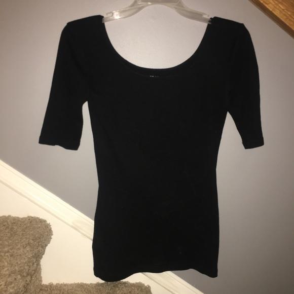 eaf07ba8 Ann Taylor Tops | Plain Black Blouse From | Poshmark